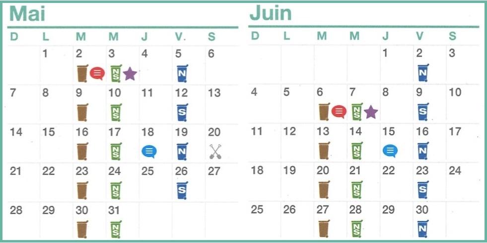 Mai et Juin