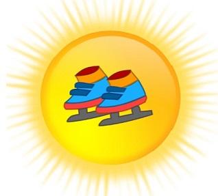 Patins soleil