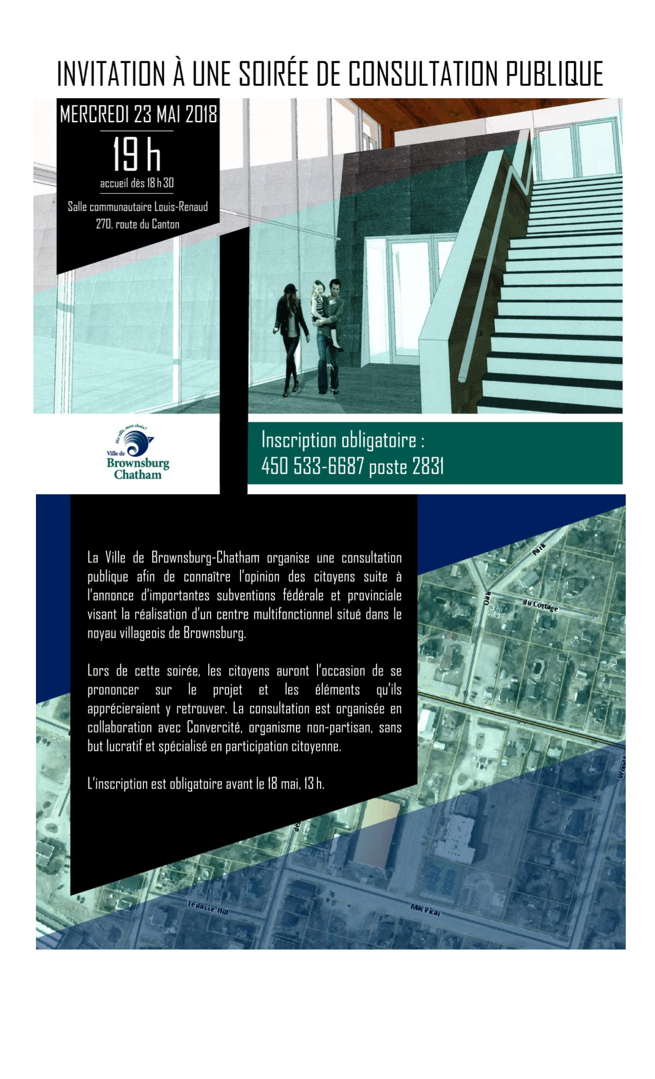 Invitation consultation publique